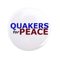 """Quakers for Peace 3.5"""" Button"""