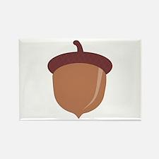Cute Cartoon Autumn Acorn Rectangle Magnet (10 pac