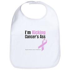 Kicking Breast Cancers Ass Bib