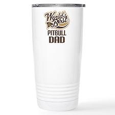 Pitbull Dad Travel Mug