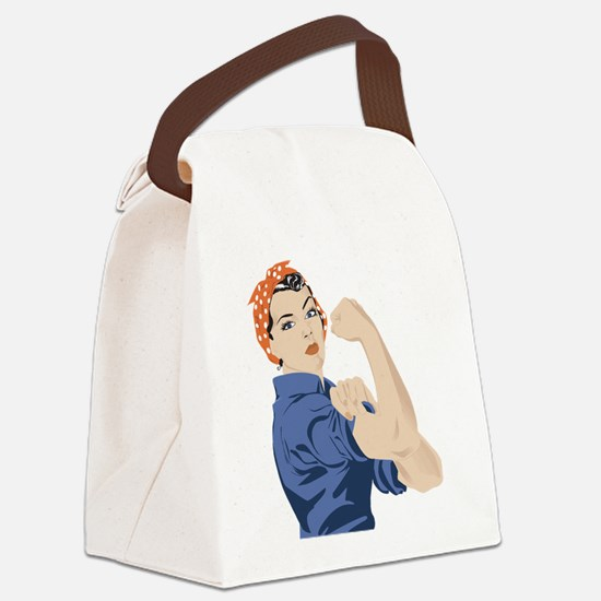 Sisters can do it Canvas Lunch Bag