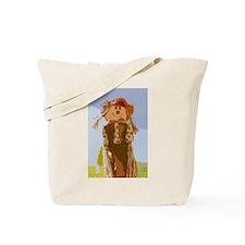 female scarecrow Tote Bag
