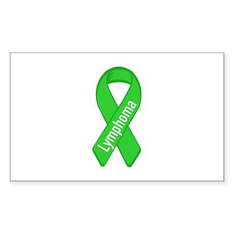 Lymphoma Oval Sticker
