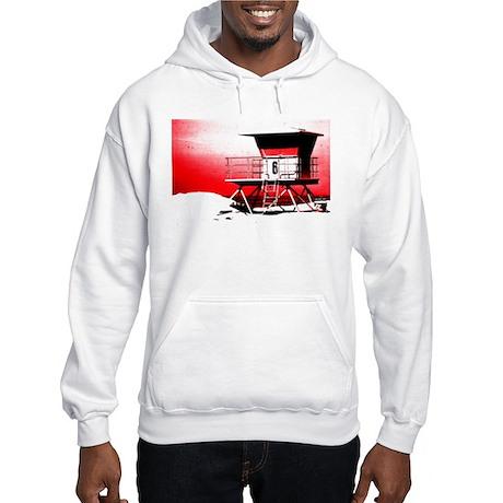 lifeguard tower Hooded Sweatshirt