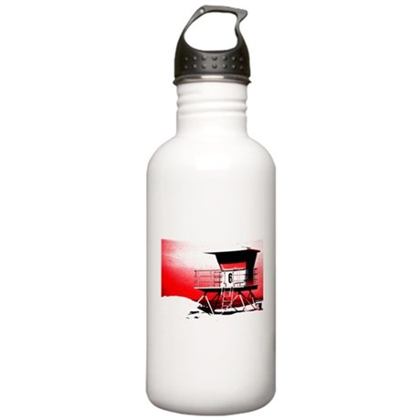 lifeguard tower Stainless Water Bottle 1.0L