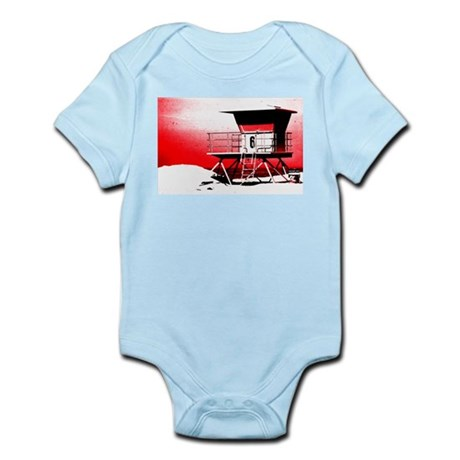 lifeguard tower Infant Bodysuit