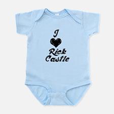 I heart Rick Castle Infant Bodysuit
