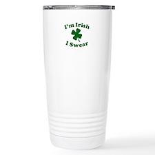 Im Irish. I Swear. Travel Mug