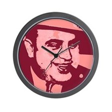 Al Capone Pop Art Wall Clock