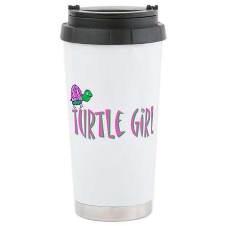 turtlegirl.png Stainless Steel Travel Mug