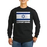 Support israel Long Sleeve T-shirts (Dark)