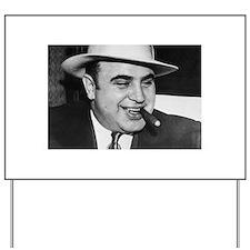 Al Capone Yard Sign