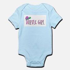 turtlegirl.png Infant Bodysuit