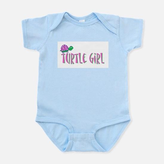 turtlegirl.png Infant Bodysuit