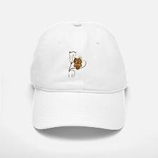 Brown Swirly Tree Owl Hat