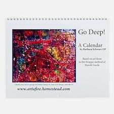 Go Deep Wall Calendar
