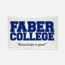 Faber College Rectangle Magnet