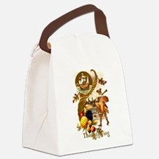 Autumn Harvest Canvas Lunch Bag