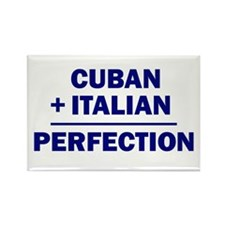 Cuban + Italian Rectangle Magnet