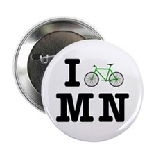 "I Bike MN 2.25"" Button"