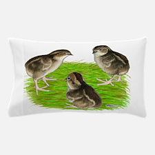 Bobwhite Quail Chicks Pillow Case
