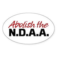 Abolish the NDAA Decal