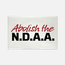 Abolish the NDAA Rectangle Magnet