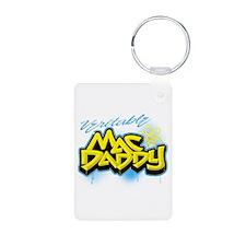 Veritable Mac Daddy Aluminum Photo Keychain