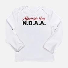 Abolish the NDAA Long Sleeve Infant T-Shirt