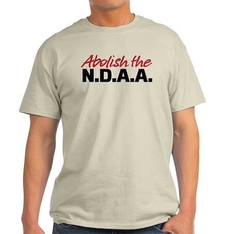 Abolish the NDAA Light T-Shirt