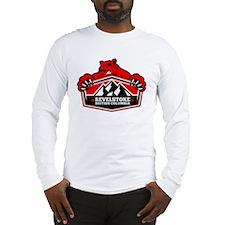 Revelstoke Red Bear Long Sleeve T-Shirt