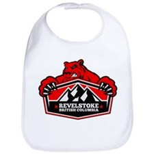 Revelstoke Red Bear Bib