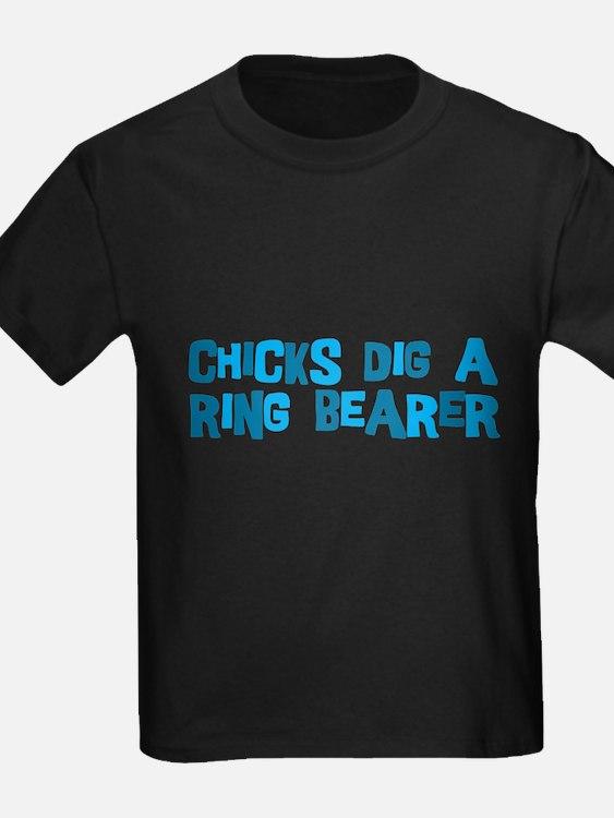 Chicks Dig A Ring Bearer T-Shirt