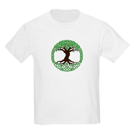 colored tree of life Kids Light T-Shirt