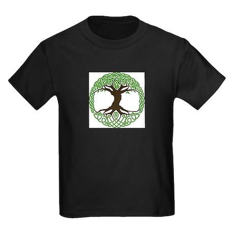 colored tree of life Kids Dark T-Shirt