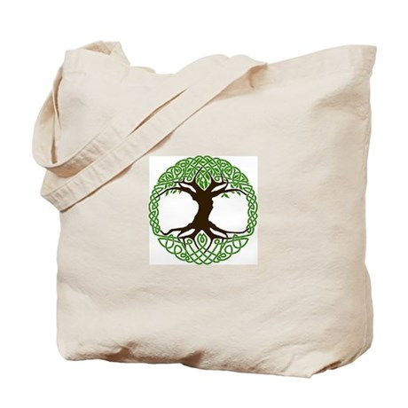 colored tree of life Tote Bag