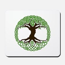colored tree of life Mousepad