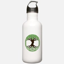 colored tree of life Water Bottle
