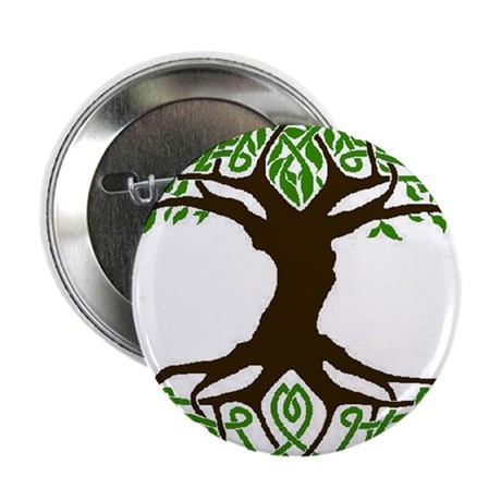 """colored tree of life 2.25"""" Button"""