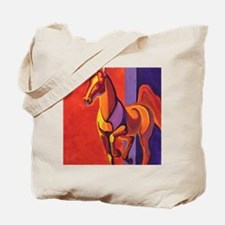 """Equine Shapes VII"" Tote Bag"
