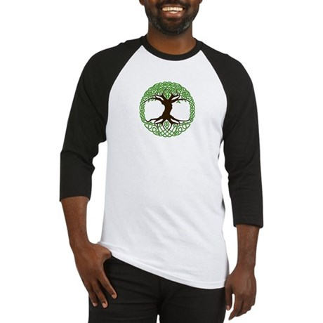 colored tree of life Baseball Jersey
