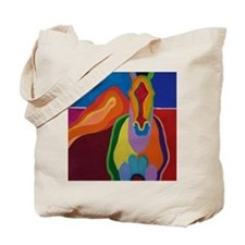 """Equine Shapes XVIII"" Tote Bag"