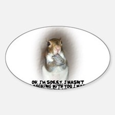Laughing Squirrel Decal