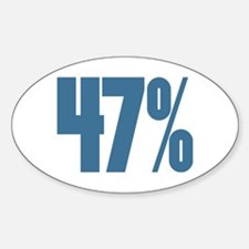 47 Percent Decal