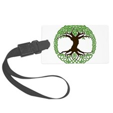 Colored Tree of Life Luggage Tag