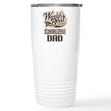 Schnauzers Dad Travel Coffee Mug