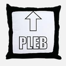 Pleb Throw Pillow