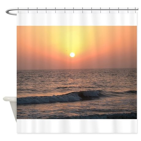 .florida sunset II. Shower Curtain