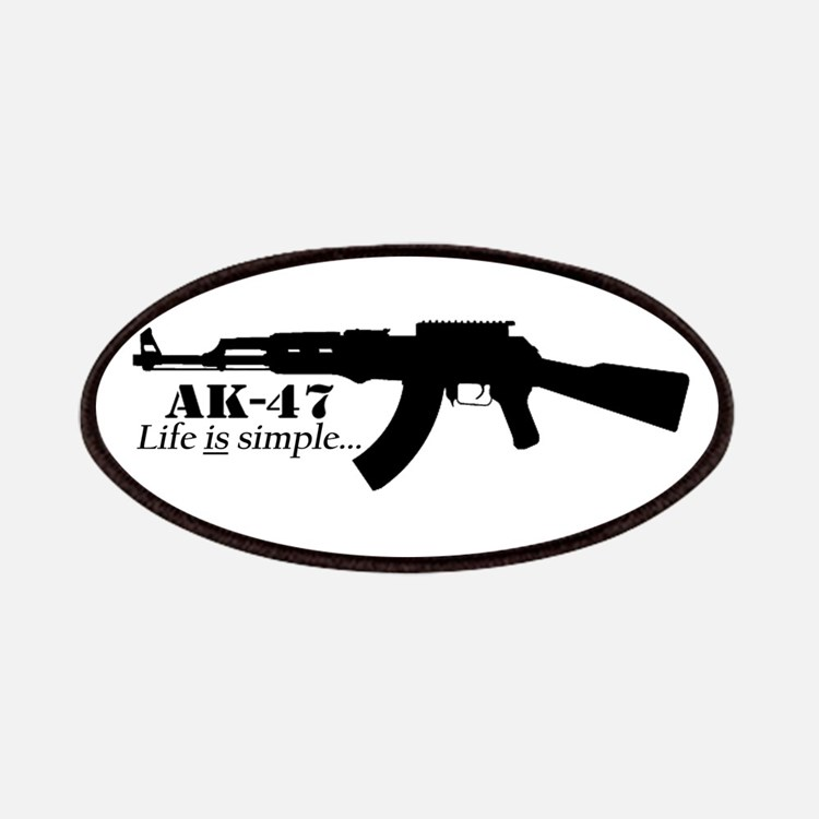 AK-47 - Life is simple Patches