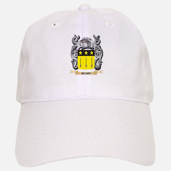 Busby Family Crest - Busby Coat of Arms Cap